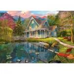 Puzzle  Schmidt-Spiele-59619 Dominic Davison, Maison sur le Lac