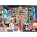Schmidt-Spiele-59653 Secret Puzzle - Grandma's Coffee Shop