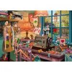 Puzzle  Schmidt-Spiele-59654 Atelier de Couture