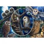 Puzzle  Schmidt-Spiele-59667 Owls