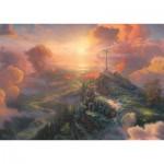 Puzzle  Schmidt-Spiele-59679 Thomas Kinkade - Spirit - La Croix