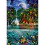 Puzzle  Schmidt-Spiele-59685 John Enright - Trésor Englouti
