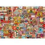 Puzzle  Schmidt-Spiele-59697 Shelley Davies - Vintage Handmade Items