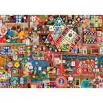 Puzzle  Schmidt-Spiele-59900 Shelley Davies - Anciens jeux de société