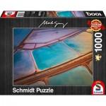 Puzzle  Schmidt-Spiele-59924 Mark Gray - Pastelle