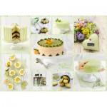 Puzzle   Buffet de Gâteaux Vert Printemps