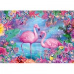 Puzzle   Flamants Roses
