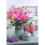 Puzzle   Style Campagnard et Roses