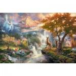Puzzle   Thomas Kinkade - Disney, Bambi