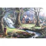 Puzzle   Thomas Kinkade - Disney, Blanche Neige