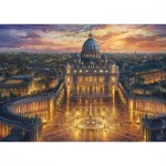 Puzzle   Thomas Kinkade - Le Vatican