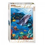 Puzzle  Step-Puzzle-73061 Monde sous marin