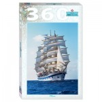 Puzzle  Step-Puzzle-73071 Sailing ship Royal Clipper