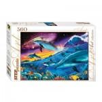 Puzzle  Step-Puzzle-78077 Monde sous marin