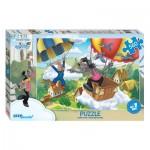 Puzzle  Step-Puzzle-78089 Le Lapin et le Loup