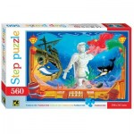 Puzzle  Step-Puzzle-78100 La Petite Sirène
