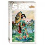 Puzzle  Step-Puzzle-78109 Femme Japonaise