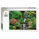 Puzzle  Step-Puzzle-79115 Waterfall in Portland Japanese Garden