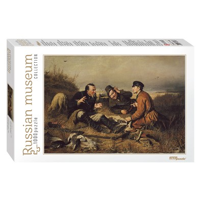 Puzzle Step-Puzzle-79216 Russian Museum - Perov. Hunters stop to Rest