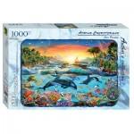 Puzzle  Step-Puzzle-79529 Orca Paradise