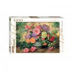 Puzzle  Step-Puzzle-83019 Fleurs dans un Vase