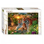 Puzzle  Step-Puzzle-83048 Combien de Tigres ?