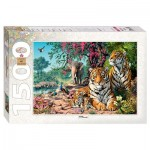 Puzzle  Step-Puzzle-83054 Tigres