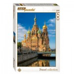 Puzzle  Step-Puzzle-83055 Cathédrale Saint-Sauveur-sur-le-Sang-Versé de Saint-Pétersbourg