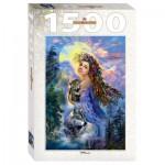 Puzzle  Step-Puzzle-83061 La Femme et les Loups