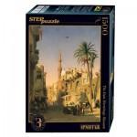 Puzzle  Step-Puzzle-83207 Prosper Marilhat - Elizbekia Street au Caire