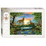 Puzzle  Step-Puzzle-84029 Loups