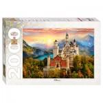 Puzzle  Step-Puzzle-84031 Neuschwanstein, Allemagne