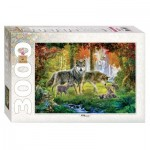 Puzzle  Step-Puzzle-85013 Loups