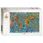 Puzzle  Step-Puzzle-85407 Carte du Monde