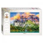 Puzzle  Step-Puzzle-85408 Château de Neuschwanstein, Allemagne