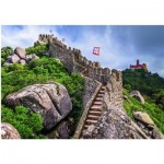 Puzzle  Step-Puzzle-85409 Castelo dos Mouros, Sintra, Portugal