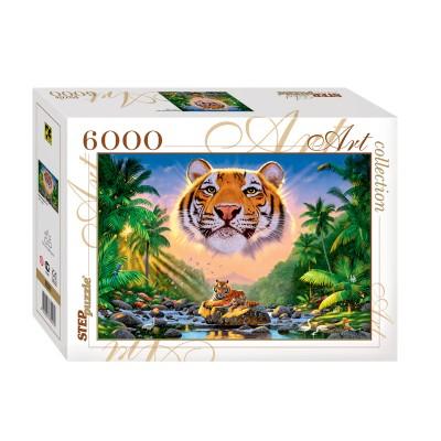 Puzzle Step-Puzzle-85501 Tigre Magnifique