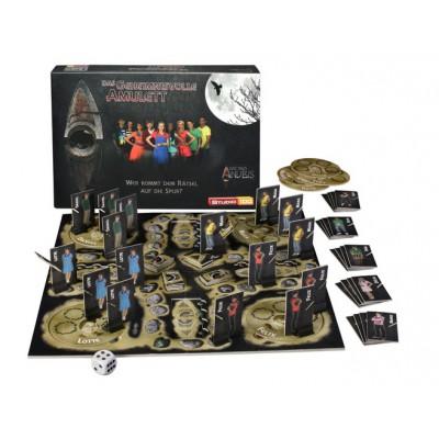 Puzzle Studio 100-42997 Das Haus Anubis : Brettspiel Das geheimnisvolle Amulett (Jeu de société en Allemand)