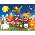 Puzzle  Sunsout-11260 Pièces XXL - Halloween Puppies