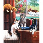 Puzzle  Sunsout-13342 Kevin Walsh - Playtime in the Study