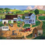 Puzzle  Sunsout-14002 Pièces XXL - Stay for Dinner