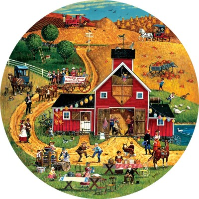 Puzzle Sunsout-14068 Pièces XXL - Harvest Dance