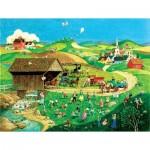 Puzzle  Sunsout-14079 Pièces XXL - Easter Egg Hunt