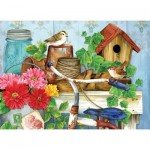Puzzle  Sunsout-16097 Pièces XXL - Jane Maday - The Old Garden Shed