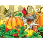 Puzzle  Sunsout-16115 Pièces XXL - October Garden