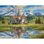Puzzle  Sunsout-16795 Pièces XXL - Almost Heaven