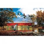 Puzzle  Sunsout-17829 David A. Maass - Eldin Bridge