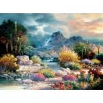 Puzzle  Sunsout-18085 James Lee - Springtime Valley