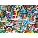 Puzzle  Sunsout-18144 Randy Wollenmann - Snow Globe Collection