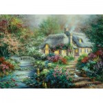 Puzzle  Sunsout-19152 Pièces XXL - Nicky Boehme - Little River Cottage
